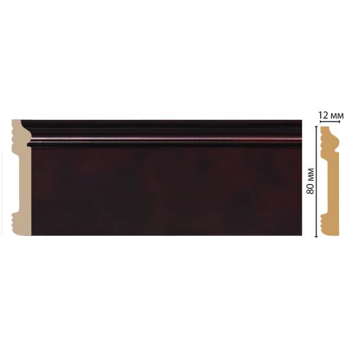 Плинтус напольный DECOMASTER D005-62ДМ