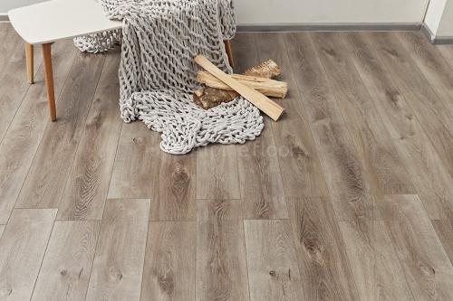 Виниловый ламинат Alpine Floor Дуб Грей Дождливый ECO 7-4