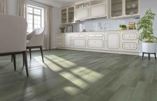 Кварцевый ламинат Home Expert 68W906 Дуб Горный ручей градиент