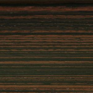 Плинтус шпонированный La San Marco Profili (Ла Сан Марко Профиль) Макасар 2500x60x22 мм