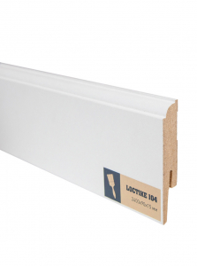 Плинтус МДФ Arbiton (Арбитон) Loctike белый под покраску 104