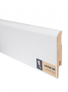 Плинтус МДФ Arbiton (Арбитон) Loctike белый под покраску 108