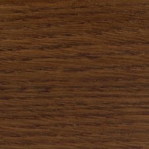 Плинтус шпонированный Tecnorivest (Техноривест) Дуб Дым 2500x100x15 мм фигурный