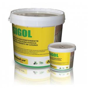 Клей двухкомпонентный эпоксидно-полиуретановый Chimiver Sigol 2К